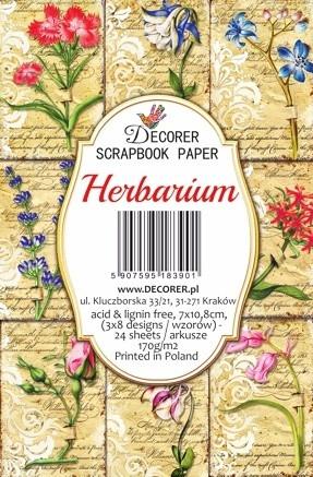 Decorer - Herbarium, Korttikuvia, 24 osaa