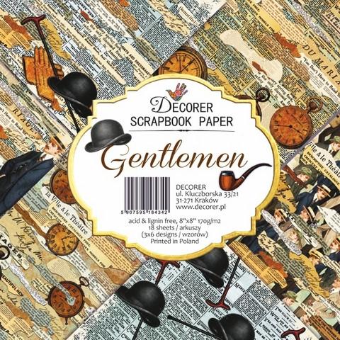 Decorer - Gentleman, Paper Pack 8