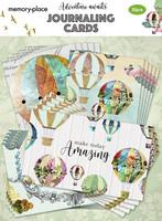 Memory Place - Adventure Awaits, Journaling Cards, 20 osaa