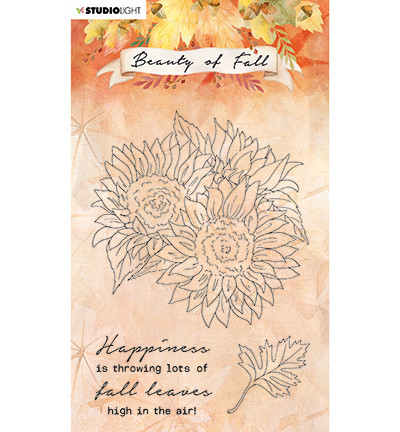 Studio Light - Beauty of Fall nr.63, Leimasetti, Sunflowers