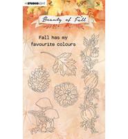 Studio Light - Beauty of Fall nr.62, Leimasetti, Mushrooms & Pumpkins