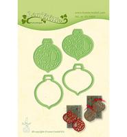 LeCrea Design -  Christmas Ornaments, Stanssisetti