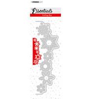 Studio Light - Cutting Die Essentials nr.67, Stanssisetti, Christmas Snowflakes Edge