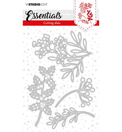 Studio Light - Cutting Die Essentials nr.62, Stanssisetti, Christmas Twigs