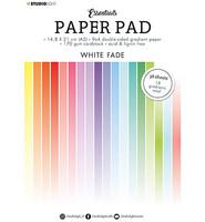 Studio Light - Paper Pad Gradient White Fade Essentials nr.21, A5, Paperikko