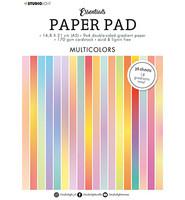 Studio Light - Paper Pad Gradient Multicolors Essentials nr.20, A5, Paperikko