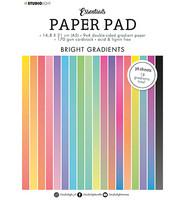 Studio Light - Paper Pad Gradient Bright Essentials nr.18, A5, Paperikko