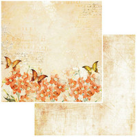 49 and Market - Vintage Artistry In Mango Double-Sided Cardstock 12