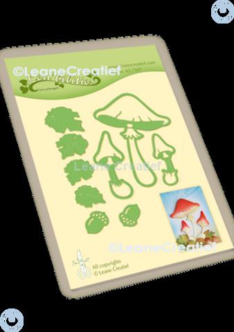 LeCrea Design - Autumn Mushrooms, Stanssisetti