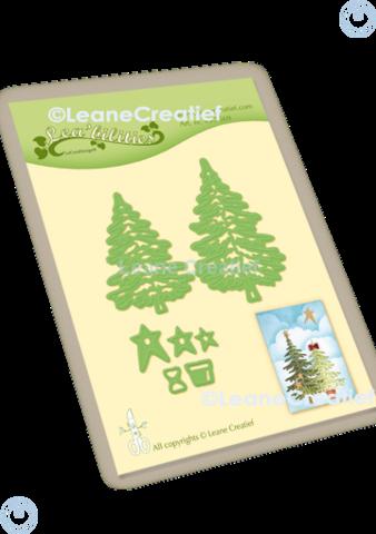 LeCrea Design - Christmas Trees, Stanssisetti