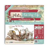 Stamperia - Alice Tea Party, Pop Up Kit 12
