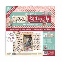 Stamperia - Alice Wonderland Tunnel, Pop Up Kit 12