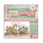 Stamperia - House of Roses, Pop Up Kit 12