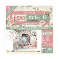 Stamperia - House of Roses Tunnel, Pop Up Kit 12