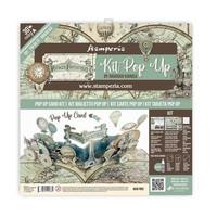 Stamperia - Voyages Fantastiques Balloon, Pop Up Kit 12