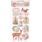 Stamperia - Pink Christmas, Chipboard