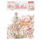 Stamperia - Pink Christmas, Die Cuts, 38osaa, Christmas