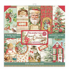 Stamperia - Classic Christmas, Paper Pack 6