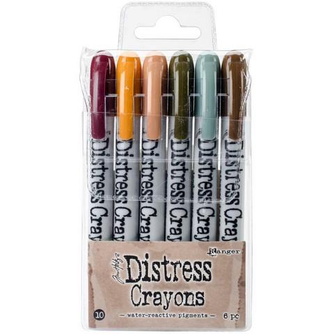Tim Holtz - Distress Crayon Set #10