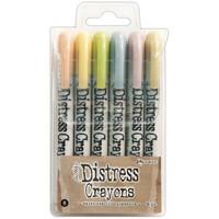 Tim Holtz - Distress Crayon Set #8