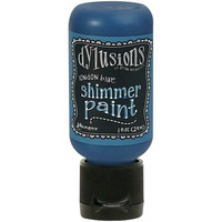 Dylusions - Shimmer Acrylic Paint, London Blue, 29ml
