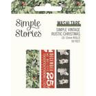Simple Stories - Simple Vintage Rustic Christmas, Washi Tape, 3 rullaa