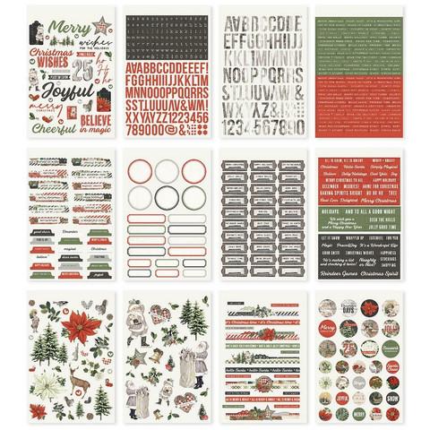 Simple Stories - Simple Vintage Rustic Christmas, Tarrasetti, 12 arkkia