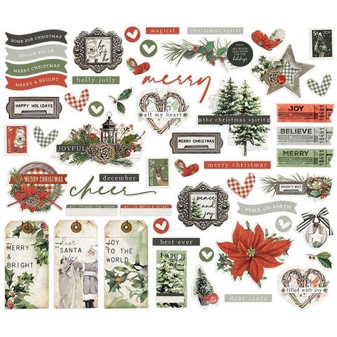 Simple Stories - Simple Vintage Rustic Christmas, 56 osaa