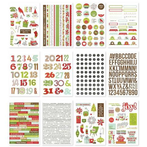 Simple Stories - Make It Merry, Tarrasetti, 12 arkkia