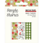 Simple Stories - Make It Merry, Washi Tape, 3 rullaa