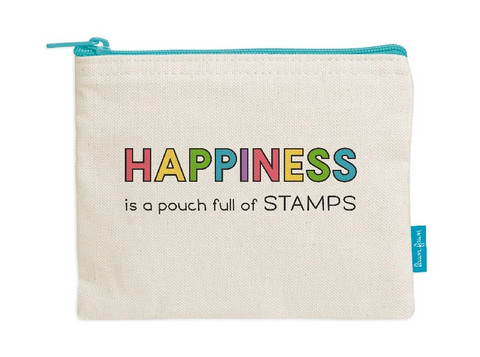 Lawn Fawn - Zipper Pouch, Happiness Is A Pouch Full Of Stamps