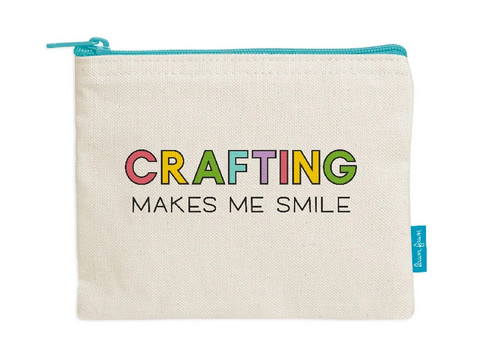 Lawn Fawn - Zipper Pouch, Crafting Makes Me Smile