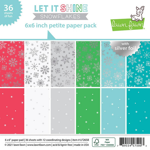 Lawn Fawn - Petite Paper Pack 6