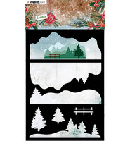 Studio Light - Sending Joy nr.33, Sapluuna, Layered Winter Landscape