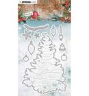 Studio Light - Sending Joy nr.51, Stanssisetti, Build a Christmas tree