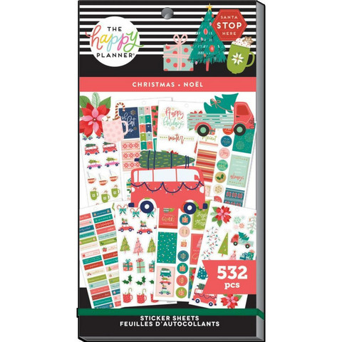 MAMBI - Happy Planner, Merry Christmas, Tarrasetti, 30arkkia