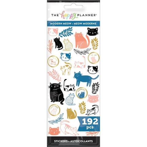 MAMBI - Happy Planner, Modern Meow, Tarrasetti, 8arkkia