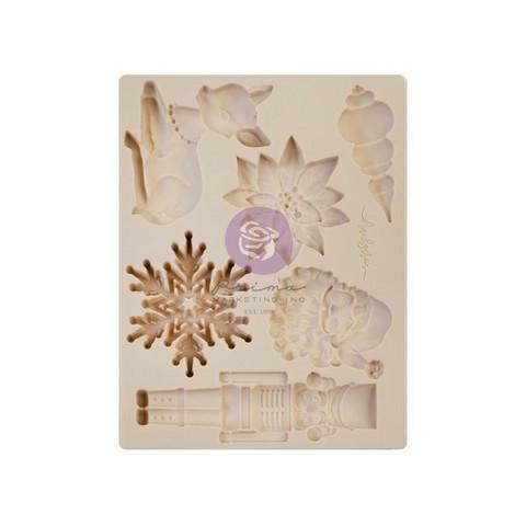 Prima Marketing - Decor Mould, Christmas Sparkle By Frank Garcia, Silikonimuotti