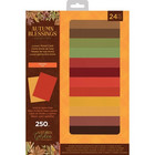 Crafter's Companion - Autumn Blessings, Luxury Mixed Card Pad A4, Paperikko
