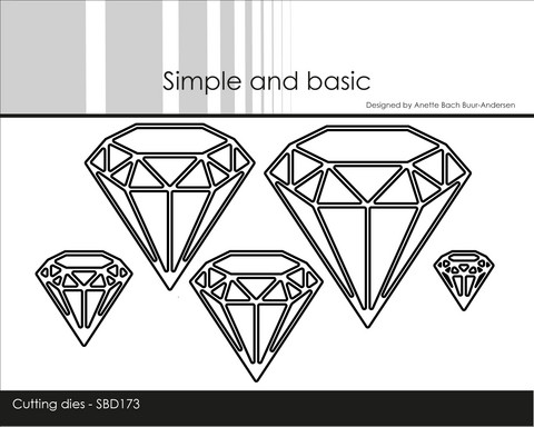 Simple and Basic - Stanssisetti, Diamonds