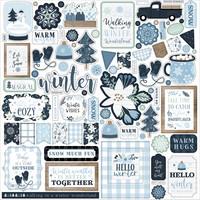 Echo Park - Winter, Element Sticker 12