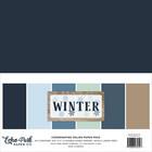 Echo Park - Winter Solids Kit, 12
