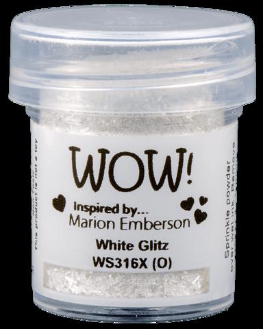 WOW! - Kohojauhe, White Glitz (X)(O), 15ml