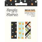 Simple Stories - Spooky Nights, Washi Tape, 3 rullaa