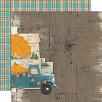 Simple Stories - Simple Vintage Country Harvest Double-Sided Cardstock 12