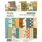 Simple Stories - Simple Vintage Country Harvest, Paperikko 6''x8'', 24sivua