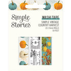 Simple Stories - Simple Vintage Country Harvest, Washi Tape, 3 rullaa