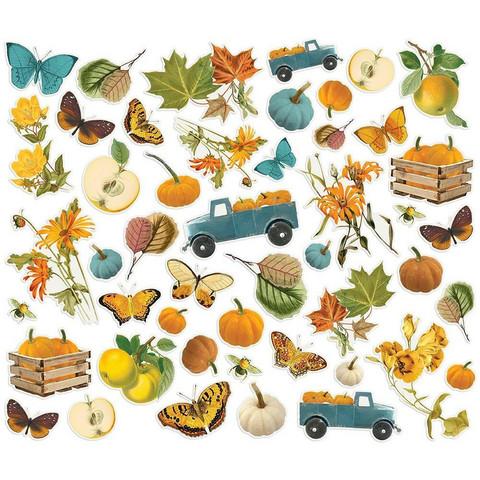 Simple Stories - Simple Vintage Country Harvest, Leikekuvat, 48 osaa