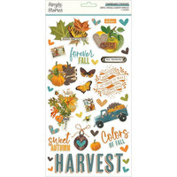 Simple Stories - Simple Vintage Country Harvest Chipboard Stickers 6