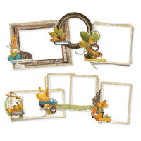 Simple Stories - Simple Vintage Country Harvest, Chipboard Frames, 6 kpl